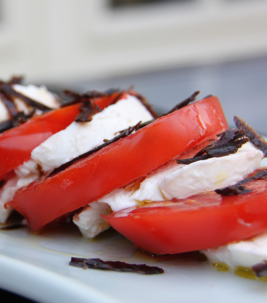 Tomates et fromages